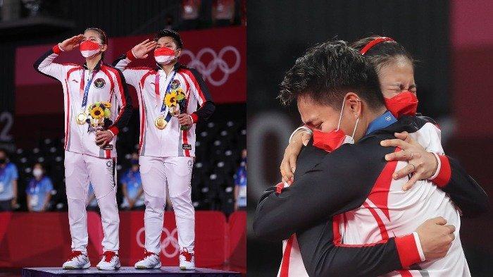 Greysia Polii dan Apriyani Rahayu membawa pulang medali emas dalam Olimpiade Tokyo 2020