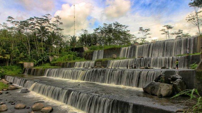 Grojogan Watu Purbo, Air Terjun Bertingkat Enam di Jogja yang Sudah Ada Sejak Tahun 1975
