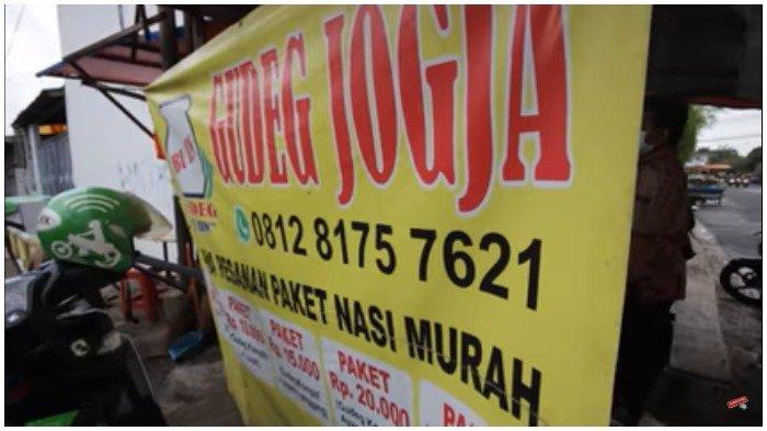 Gudeg Jogja Bu Iin, Kuliner Enak di Jakarta Barat yang Tawarkan 30 Menu Pilihan Menggoda Lidah
