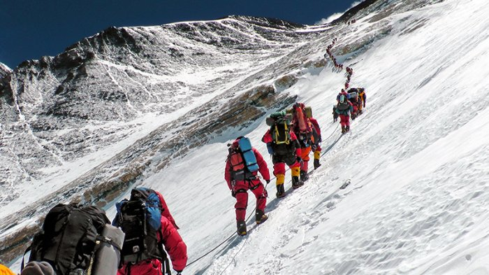 Guide pendaki Gunung Everest