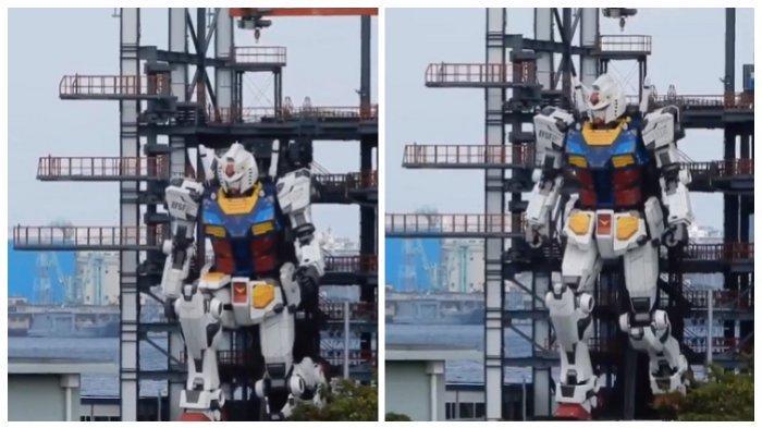 Pembukaannya Sempat Diundur, Patung Gundam Raksasa Dibuka di Jepang 19 Desember 2020