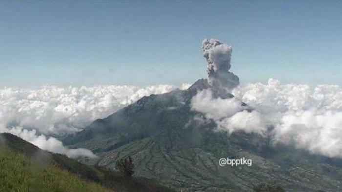 Status Siaga Level III, Tanggap Darurat Letusan Gunung Merapi di Klaten Diperpanjang