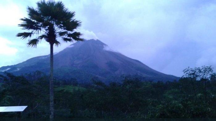Update Aktivitas Gunung Merapi - Tercatat Dua Kali Keluarkan Guguran Awan Panas Pagi Ini