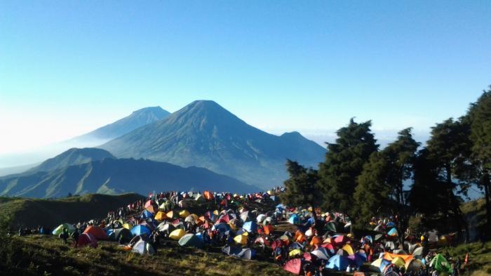 Sempat Ditutup Akibat Cuaca Ekstrem, Pendakian Gunung Prau Kembali Dibuka, Sampai Kapan?