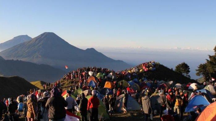 Pesta Tahun Baru Usai, Gunung Prau Lagi-lagi Akan Ditutup Pada Tanggal Ini