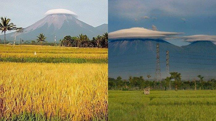 Gunung Semeru Tampak Menggunakan Topi Putih, Fenomena Apa Ini?