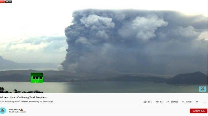 Viral di Medsos, Video Pesawat Dibersihkan di Bandara Manila, Disebut Berlapis Abu Gunung Taal