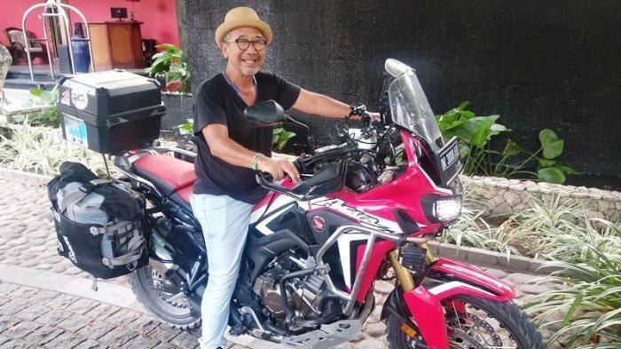 Promosikan Bali di Dunia, Pria Ini Bakal Naik Motor Keliling Amerika