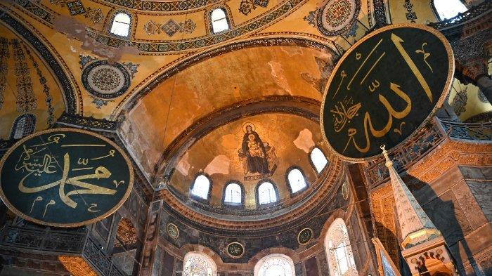 Menilik Perjalanan Panjang Hagia Sophia Turki, dari Gereja, Museum, Hingga Resmi Jadi Masjid