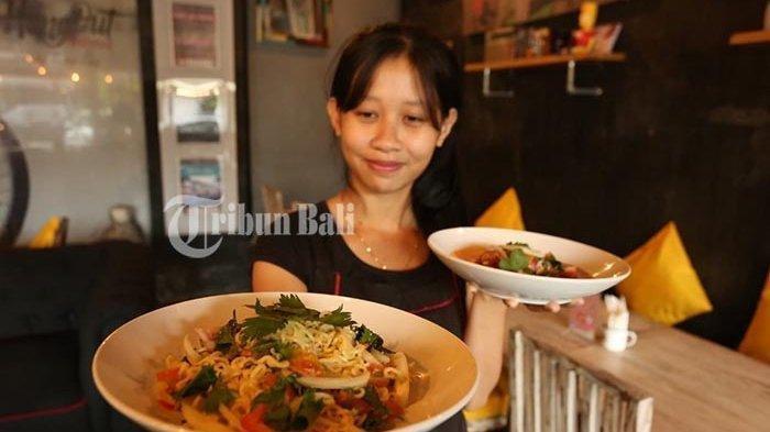 Cari Kuliner Khas Thailand di Denpasar? Coba Lezatnya Yum Mee Salad Ala HangOut @Renon by Resep Thai