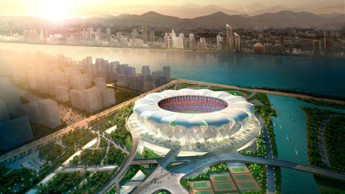 Begini Penampilan Stadion Bernilai Rp 5,5 Miliar yang Akan Menjadi Lokasi Asian Games 2022