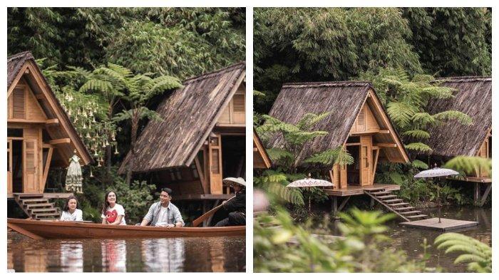 Harga Tiket Masuk Dusun Bambu Lembang Terbaru 2021, Jajal Serunya Mendayung Sampan Sangkuriang