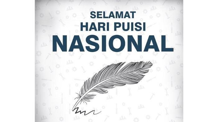 Begini Sejarah Hari Puisi Nasional yang Diperingati Setiap 28 April