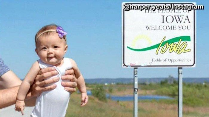 Baru Usia 5 Bulan, Bayi Ini Udah Keliling 50 Negara Bagian di Amerika Serikat