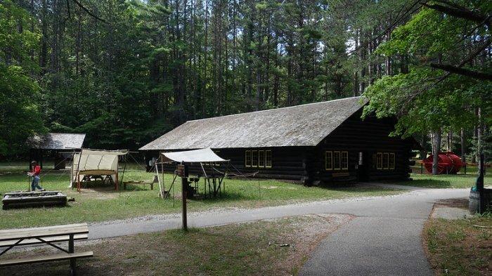 Hartwick Pines Logging Museum