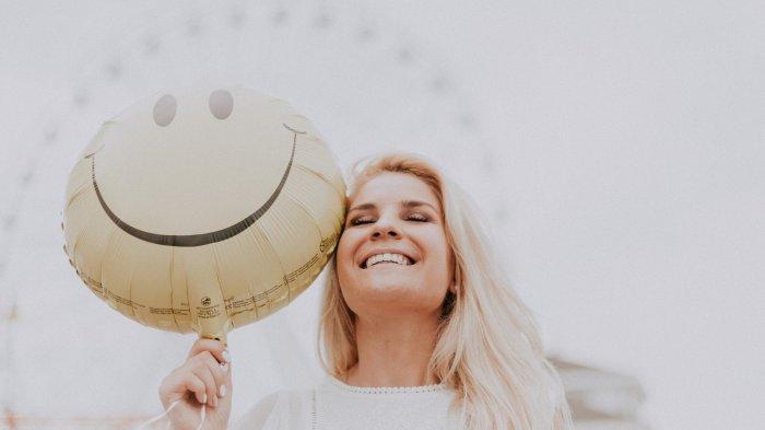 Ilustrasi warga Finlandia yang bahagia