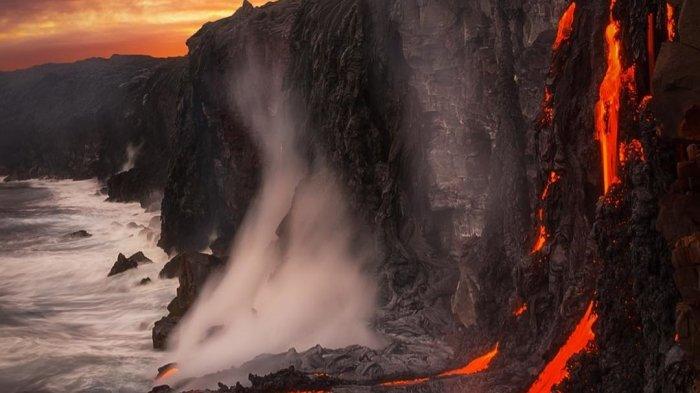 Taman Nasional Gunung Api di Hawaii Dibuka Kembali untuk Wisatawan Setelah Mengalami Erupsi