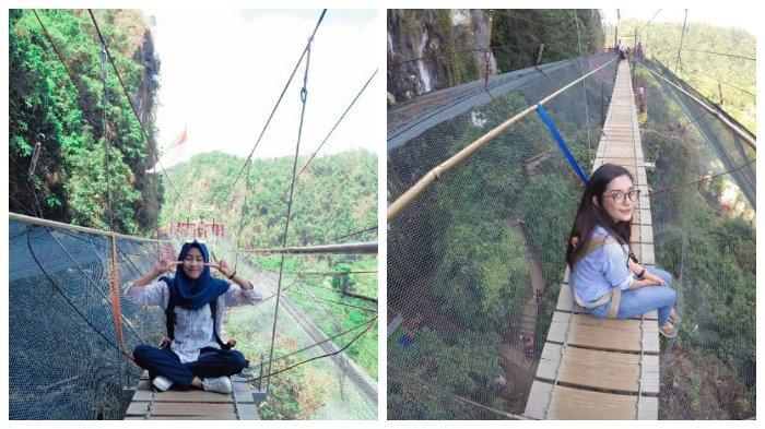 Helena Sky Bridge, Spot Selfie Menantang di Atas Taman Kupu-kupu di Sulawesi Selatan