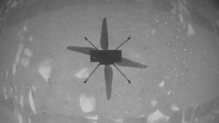 Drone Buatan NASA Berhasil Selesaikan Misi Penerbangan Pertama di Mars