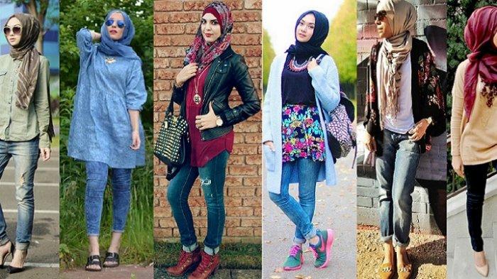 Nggak Melulu Kaftan, Modifikasi Penampilanmu dengan Hijab Modern Style yang Chic dan Modis Ini