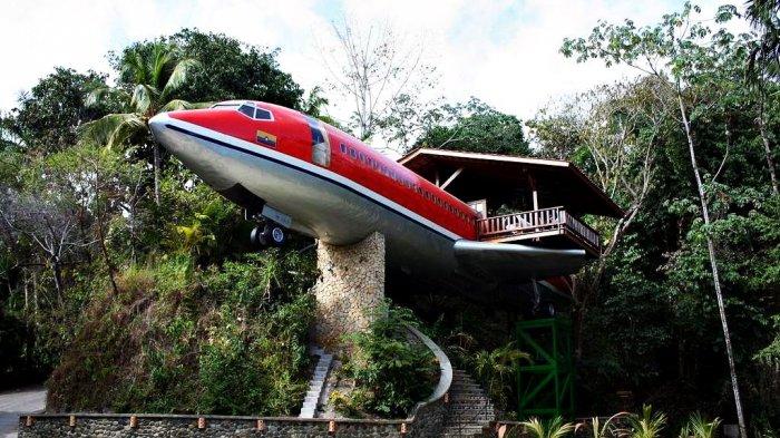 Berbentuk Pesawat, Hotel di Kosta Rika Ternyata Datangkan Furnitur dari Indonesia