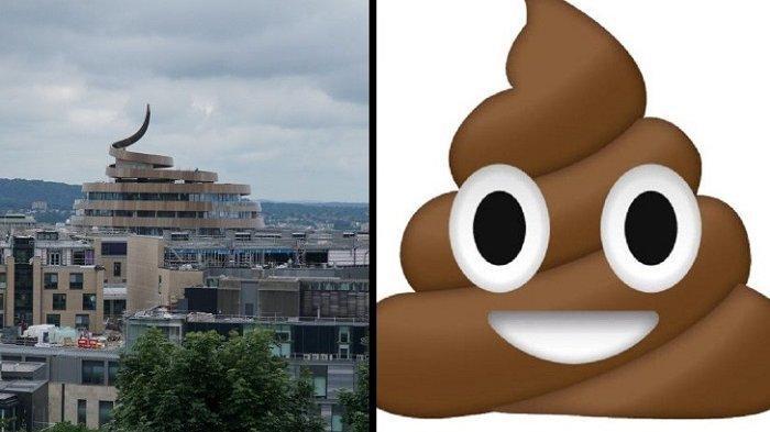Duh, Hotel Mewah Tuai Cacian Gara-gara Bentuknya Disebut Mirip Emoji Kotoran