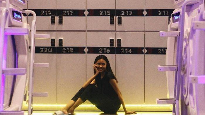 Foto-foto Hotel Kapsul di Terminal 2 Bandara Soekarno-Hatta, Punya Desain Futuristik dan Kekinian