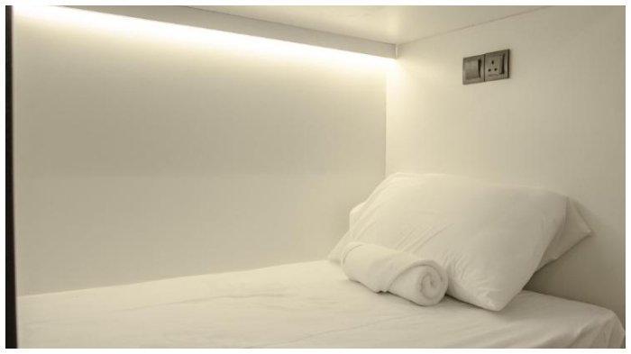 Ilustrasi kamar hotel murah di