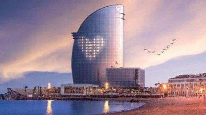 Hotel W Barcelona di Barcelona, Spanyol