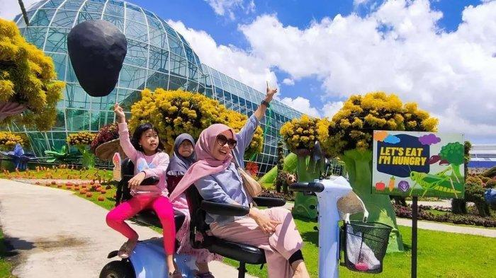 Harga Tiket Masuk Batu Love Garden September 2021, Tempat Wisata Penuh Bunga di Kota Batu