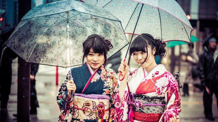 Hujan di Jepang