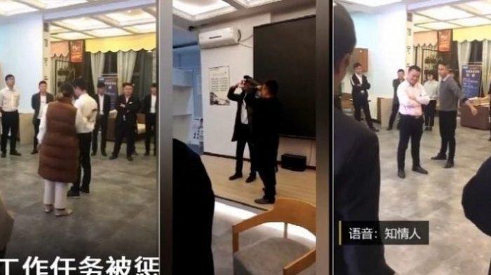 Tiga Manajer di Tiongkok ini Ditangkap Setelah Memberikan Hukuman Memakan Kecoak Kepada Bawahannya