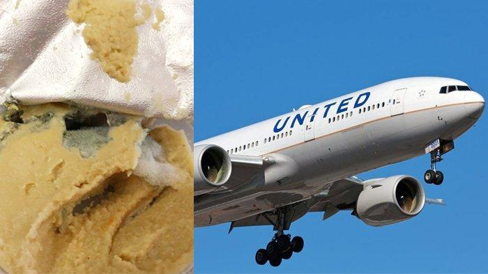 Penumpang United Airlines Protes Makanan yang Diberikan Pramugari Telah Berjamur