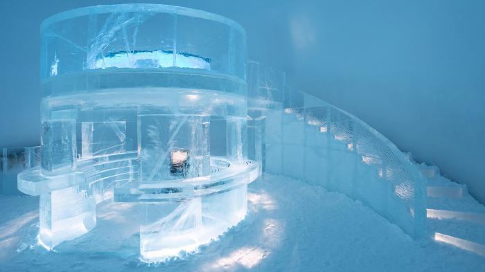 Ice Hotel Swedia Sensasi Memahat Es Melihat Aurora Hingga Tidur