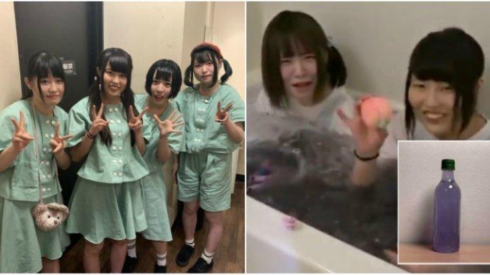 Idol Jepang Ini Jual Air Bekas Rendaman Tubuh Mereka Seharga Rp 12,5 Juta Per Botol, Berminat?