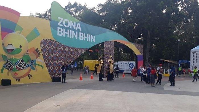 Jelang Asian Games 2018, Masyarakat Mulai Padati Gelora Bung Karno
