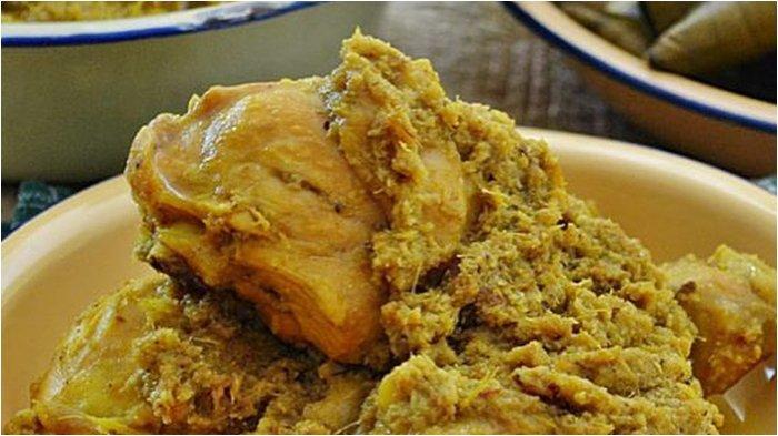 Coba Lezatnya Ayam Gagape, Kuliner Khas Makassar yang Sering Disajikan saat Lebaran