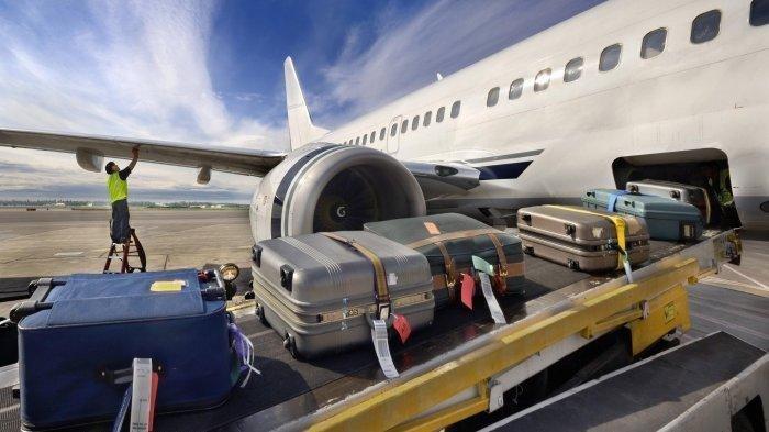 Ilustrasi bagasi penumpang pesawat