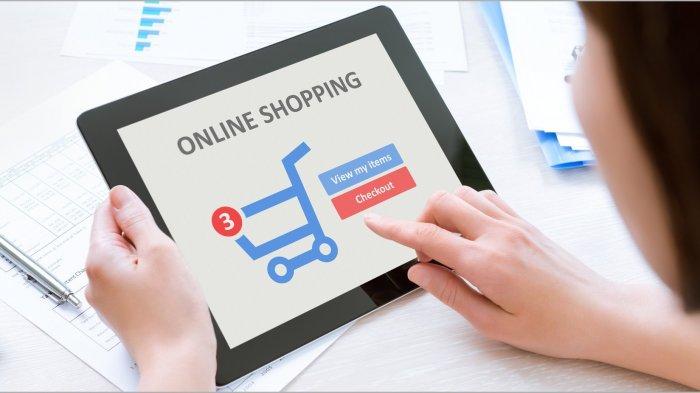 ILUSTRASI belanja online