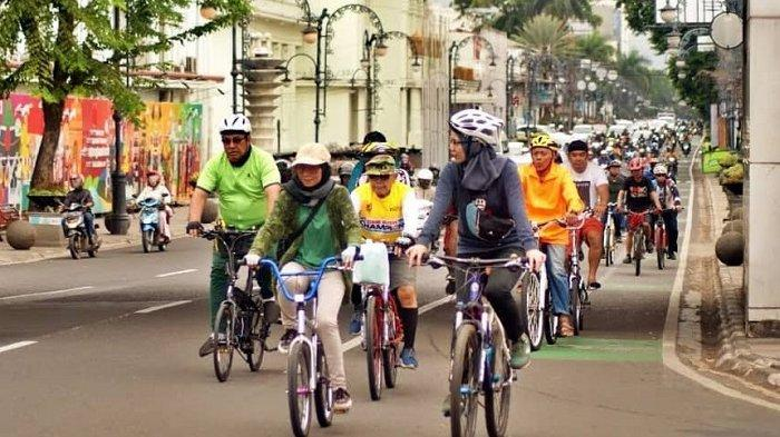 Cegah Penyebaran Covid-19, Pemkot Bandung Terapkan Protokol Kesehatan Bagi Pesepeda