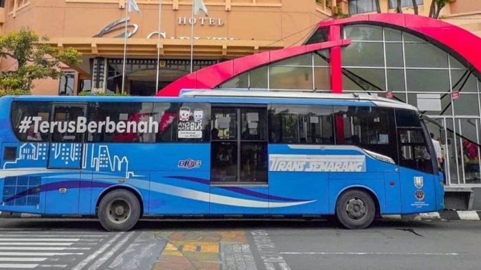 Ruas Jalan Utama Ditutup, Jadwal Layanan Trans Semarang Dibatasi, Simak Perubahannya