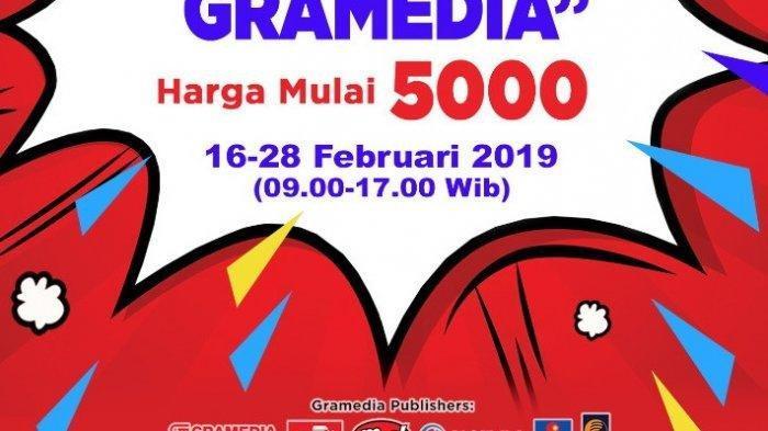 Cuci Gudang Gramedia di Jakarta, Buku Murah Mulai Rp 5 Ribu