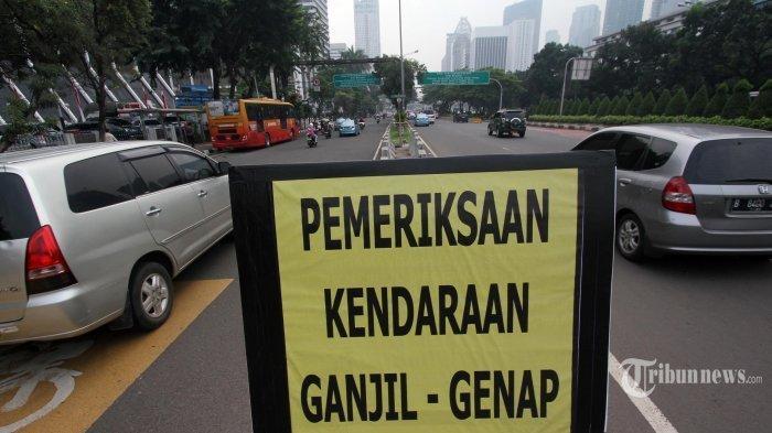 Ilustrasi Dinas Perhubungan DKI Jakarta akan kembali menerapkan kebijakan ganjil genap di sejumlah ruas jalan Ibu Kota.