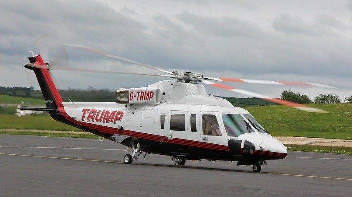 Viral Helikopter Milik Donald Trump Dijual, Berapa Kisaran Harganya?