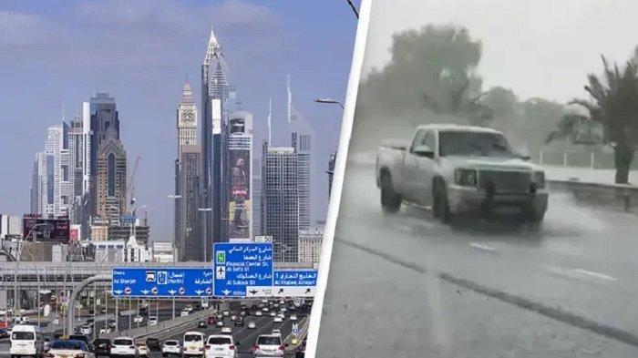 Dubai Ciptakan Hujan Buatan untuk Mengatasi Cuaca Panas Ekstrem yang Mencapai 50 Derajat Celcius