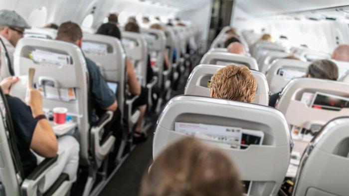 Kesal Tak Dapat Minuman di Pesawat, Pria Ini Gigit Telinga Penumpang Lain