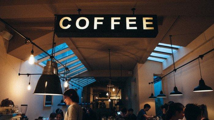 Ilustrasi kafe kopi