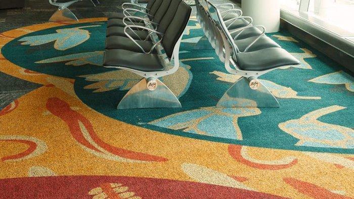 Sebagian Besar Lantai di Bandara Dilapisi Karpet, Apa Tujuannya?