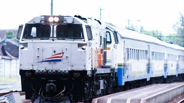 Ilustrasi Kereta Api Indonesia