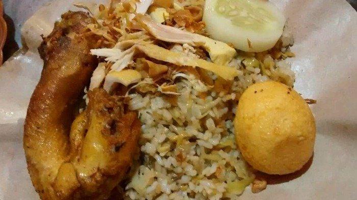 Ilustrasi kuliner nasi goreng kumis